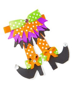 This Fancy Halloween Hair Clip is perfect! This Fancy Halloween Hair Clip is perfect! Halloween Hair Clips, Halloween Ribbon, Moldes Halloween, Halloween Crafts, Halloween Ideas, Halloween Costumes, Homade Christmas Ornaments, Hair Bow Tutorial, Halloween Accessories