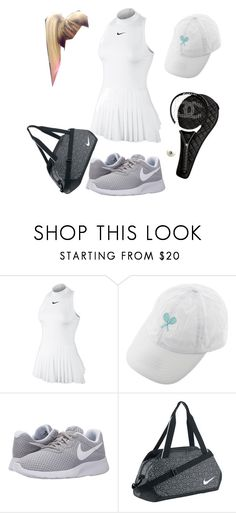 """Champs"" by paisdorsey ❤ liked on Polyvore featuring Chanel and NIKE"