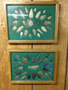 framed arrowheads