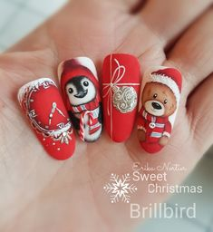 5 nail trends to watch out for Nail Art Noel, Christmas Gel Nails, Christmas Nail Art, Holiday Nails, Wine Nails, Subtle Nails, Nagellack Design, Square Nail Designs, Manicure E Pedicure
