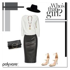 """""""Girl wanted!"""" by tatajrj ❤ liked on Polyvore featuring Joseph, Zimmermann, Chanel and Victoria Beckham"""