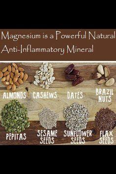 Studies Show Magnesium Reduces Chronic Inflammation http://www.naturalsolutionsmag.com/news-item/studies-show-magnesium-reduces-chronic-inflammation