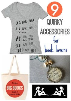 9 Quirky Accessories for Book Lovers