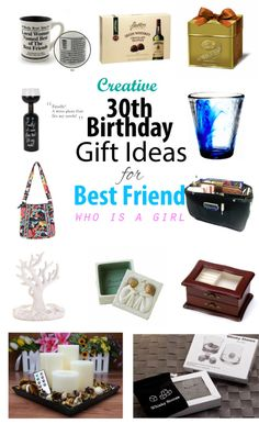 30th Birthday Gift Ideas for Female Best Friend