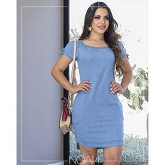 Simple Dresses, Casual Dresses, Summer Dresses, Modest Fashion, Fashion Dresses, Blush Dresses, One Piece Dress, Denim Fashion, Dress Patterns