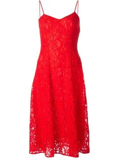 MICHAEL Michael Kors Floral Lace Flared Dress, $252; farfetch.com
