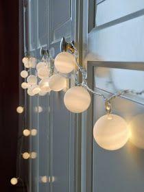 ErnestKa: Ping Pong, es werde Licht! DIY Lichterkette