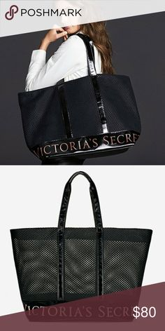 Victoria's Secret weekender bag Black Victoria's Secret bag, with zipper and has lots of room inside! NWT never been used!! Great quality! PINK Victoria's Secret Bags Totes