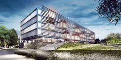 Galería de Presentan el diseño ganador del futuro complejo judicial de Necochea en Argentina - 1