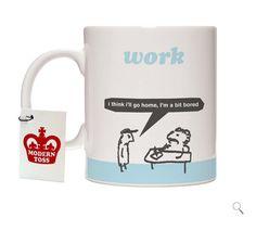 Modern Toss Mugs