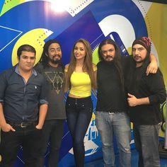Foto con @angiegmorfin @guatevision_tv
