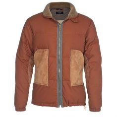 Paul Smith Jackets - Shearling Pocket Down Jacket