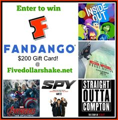 Celebrate this Summer's Must See Movies & Enter to win a $200 Fandango Gift Card #FandangoFamily