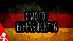 Today's #German word of the day is: eifersüchtig | Have you ever been or known someone who was really eifersüchtig?  Remember to press the like button here and on the video if you want me to keep making these videos!  #gwotd