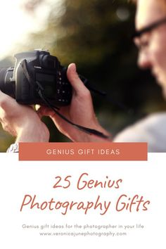 Gift ideas for him for her for photographers. Creative funny and unique photography presents for loved ones. Includes beautiful camera jewelry gear and clothing items! Check it out! Photography Topics, Photography Gear, Photography Equipment, Amazing Photography, Learn Photography, Photography Composition, Photographer Gifts, Gifts For Photographers, Camera Aesthetic