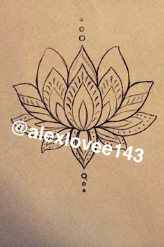 Can be use for a tattoo or henna it's nice and simple. Easy to draw.