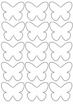 Crafts For Kid Inspiration For Children Of All Ages - Lumax Homes Preschool Crafts, Diy Crafts For Kids, Art For Kids, Arts And Crafts, Butterfly Party, Butterfly Crafts, Butterfly Mobile, Butterfly Template, Flower Template