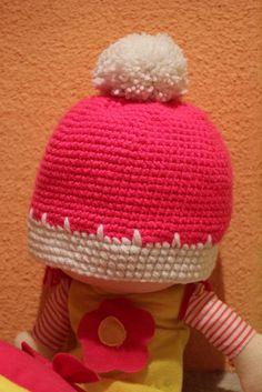 Bommelmützchen für kleine Prinzessinen <3 Rid, Winter Hats, Beanie, Facebook, Handmade, Shopping, Fashion, Breien, Moda