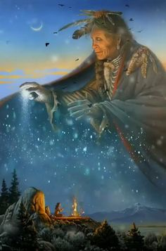 Vision Quest by Charles Frizzell Native American Prayers, Native American Wolf, Native American Spirituality, Native American Paintings, Native American Wisdom, Native American Pictures, Native American Beauty, American Indian Art, Native American History