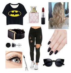 """""""Casual"""" by salma-wesam on Polyvore featuring MAC Cosmetics, ncLA, Vera Bradley, Luminess Air, BERRICLE, Hadoro, women's clothing, women, female and woman"""