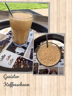 Naschereien aus der Küche : Geeister Kaffeeschaum aus dem Thermi
