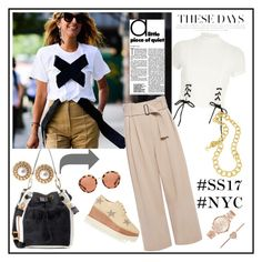 """NY Street Style:♥♥♥"" by marthalux ❤ liked on Polyvore featuring Kenzo, Marni, Ziba, River Island, A.L.C., Prada, STELLA McCARTNEY, Yves Saint Laurent and Michael Kors"