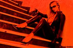 Red Stairs II - Thanks Barney !!