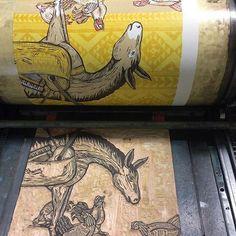 RG @justajar #letterpress #printmaking #printspotters #printisntdead