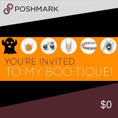 """YOUR INVITED TO MY """"BOO-tique"""" Check out my website  www.touchstonecrystal.com/candaceo and click shop to view all the fabulous jewels! If you love them just as much as I do then let me help you earn FREE jewelry by hosting a """"BOO-TIQUE"""" party with me!!  Touchstone Crystal by Swarovski Jewelry"""