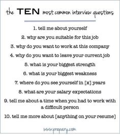 Questions To Ask Self Inpowering Pinterest Job Interviews . How ...