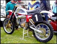 Early '80s CZ 125...