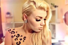 im going to get a leopard tattoo soon just not there