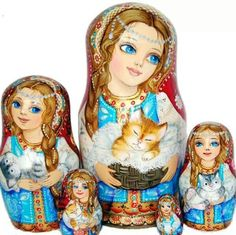 Russian Nesting DollsMatryoshka Dolls / Nesting Dolls : More Pins Like This At FOSTERGINGER @ Pinterest