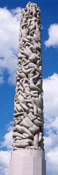 Gustav Vigeland Sculpture Park, Frogner Park, Norway