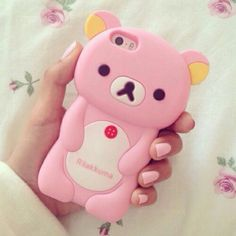 ♡love you rilakkuma~kawaii u. Cell Phone Deals, Free Cell Phone, Best Cell Phone, Cell Phone Holder, Kawaii Phone Case, Girly Phone Cases, Ipod Cases, Iphone Case, Cute Cases