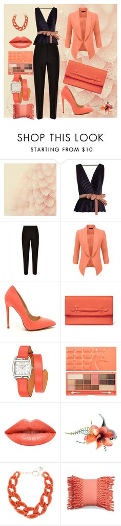 """Untitled #667"" by domla ❤ liked on Polyvore featuring Roksanda, Jaeger, LE3NO, Hermès, Ardency Inn, DIANA BROUSSARD and Levtex"