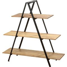 Crafted from mango wood, this framework shelf is great for adding a touch of industrial appeal to your home or making a feature of statement accents.