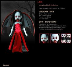 Living Dead Doll - Resurrection Series - Lilith Variant