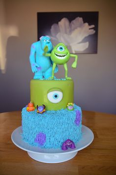 Jackson's first bday cake!! @Lynn Webb