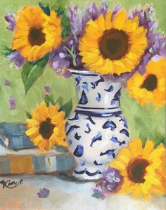Original oil painting: Still Life with by KIMPETERSONART on Etsy