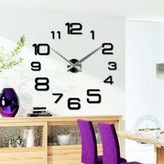 3d Wall Clock, Design, Home Decor, Room Decor, Design Comics, Home Interior Design, Home Decoration, Interior Decorating