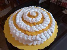 Torta dulce melocoton