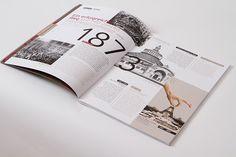 UBM annual report 2013 by Projektagentur Weixelbaumer, via Behance Annual Report Design, Editorial Design, Behance, Editorial Layout