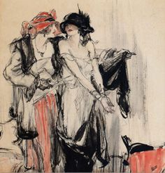 Fine Art Connoisseur - Golden Age Of Illustration And Great Gatsby-Era Artist On View In NYC