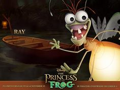 Princess And The Frog Character Ray