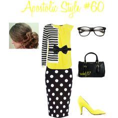 """Contest ~ Apostolic Style #60"" by rachelj87 on Polyvore"