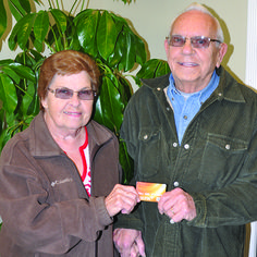 We would like to extend Avery warm congratulation to Bob and Ilene from Elkton, Maryland! They were randomly drawn as the winners of a $500 VISA gift card after taking a survey!
