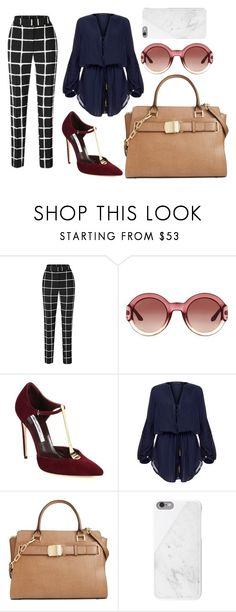 """Elegant"" by sophiaeliaz on Polyvore featuring moda, Gucci, Brian Atwood, ViX, Calvin Klein, Native Union, women's clothing, women's fashion, women y female"