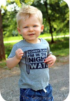 Game of Thrones Night's Watch T-Shirt Printed with Inkodye.