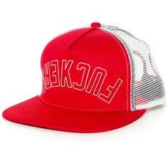 Official Effers gorra trucker rojo y blanco
